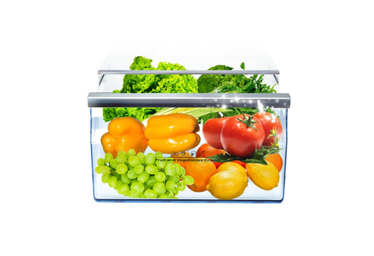 350 Litre Stainless Steel Top Mount Fridge by Hisense