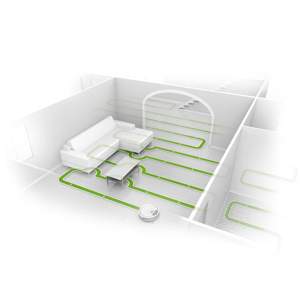 Irobot R980 Roomba 980 At The Good Guys External Serial Port Diagram Seamlessly Navigates An Entire Level Of Your Home Recharging As Needed Until Job Is Done