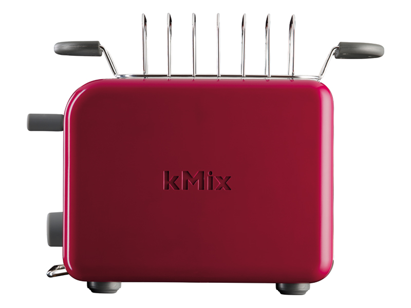 Grille pain Kenwood TTM 021 ROUGE KMIX (3121577) | Darty
