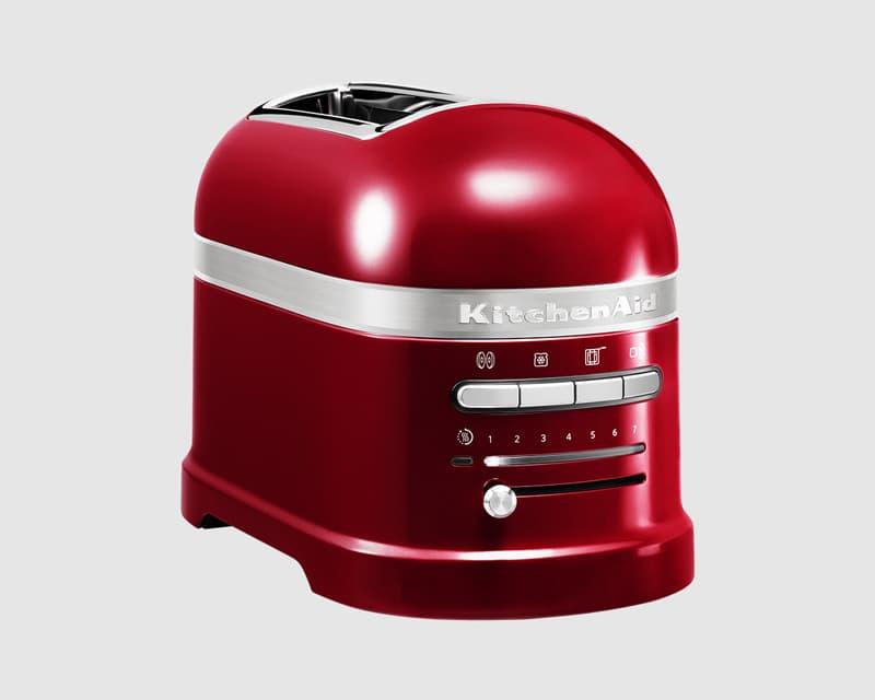 KitchenAid Artisan Raspberry Ice 2 Slot Toaster 5KMT2204BRI