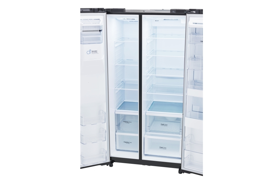 lg refrigerator lsxs26366s. lg 26 cu. ft. side-by-side refrigerator with door-in-door - lsxs26366d black stainless steel sam\u0027s club lg lsxs26366s s