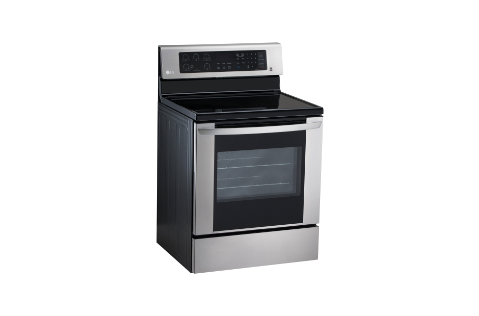 LG 30 in. Stainless-steel Freestanding Electric Range with ...