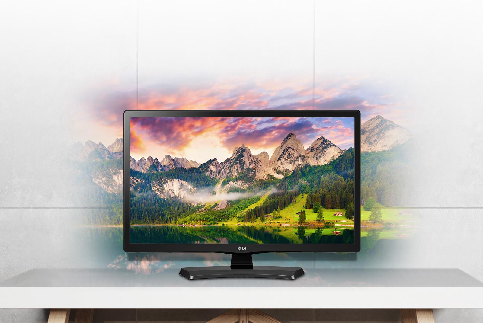 """LG 24MT48VF-PZ Tv Led 23,6"""" Hd Nero"""