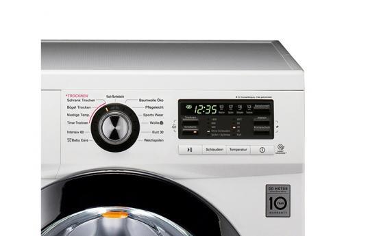 Lg f1496ad3 stand waschtrockner weiß b euronics.de