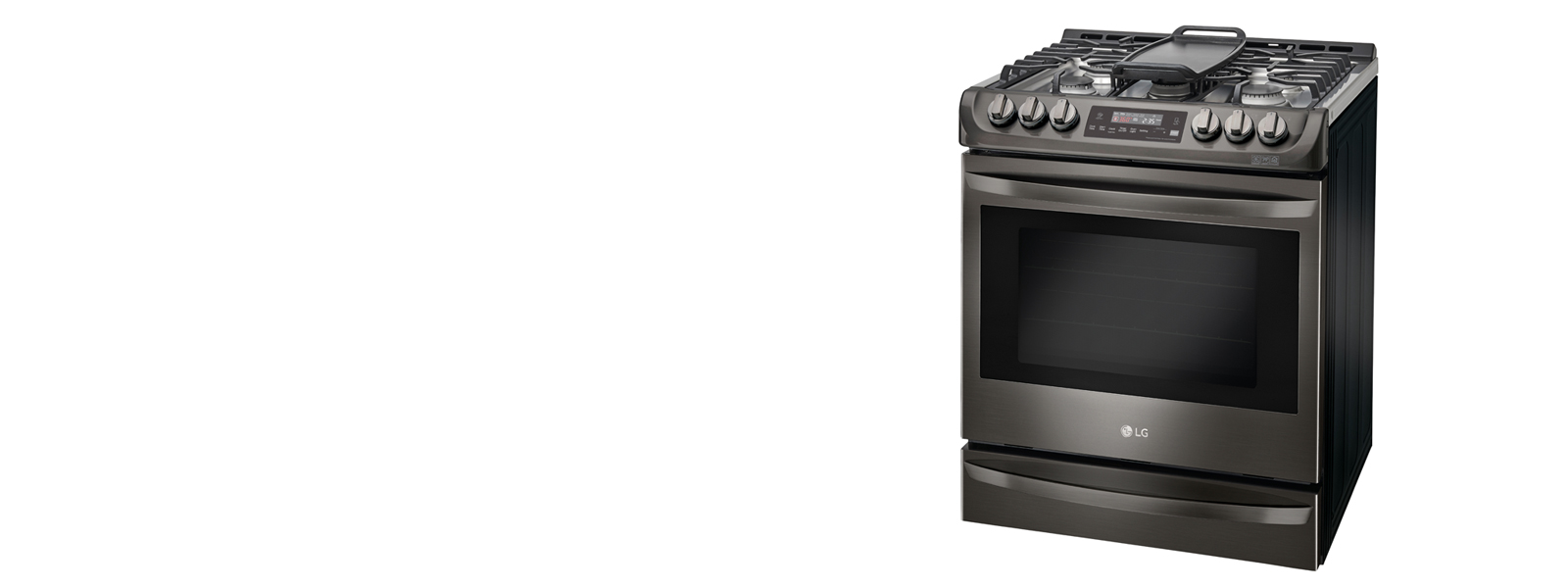lssg3016st lg studio slide in gas range with warming drawer