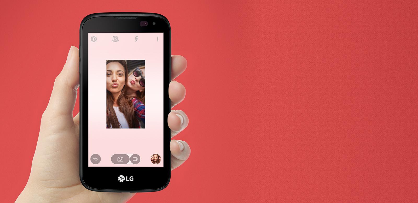 Virgin Mobile LG K3 8GB Prepaid Smartphone, Black