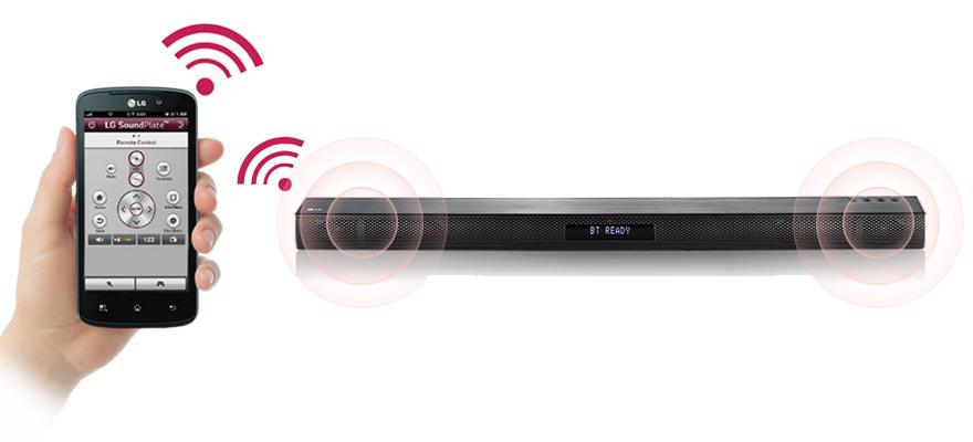 LG 2 0 Channnel Soundbar With Bluetooth | LAS260B | Euronics Ireland