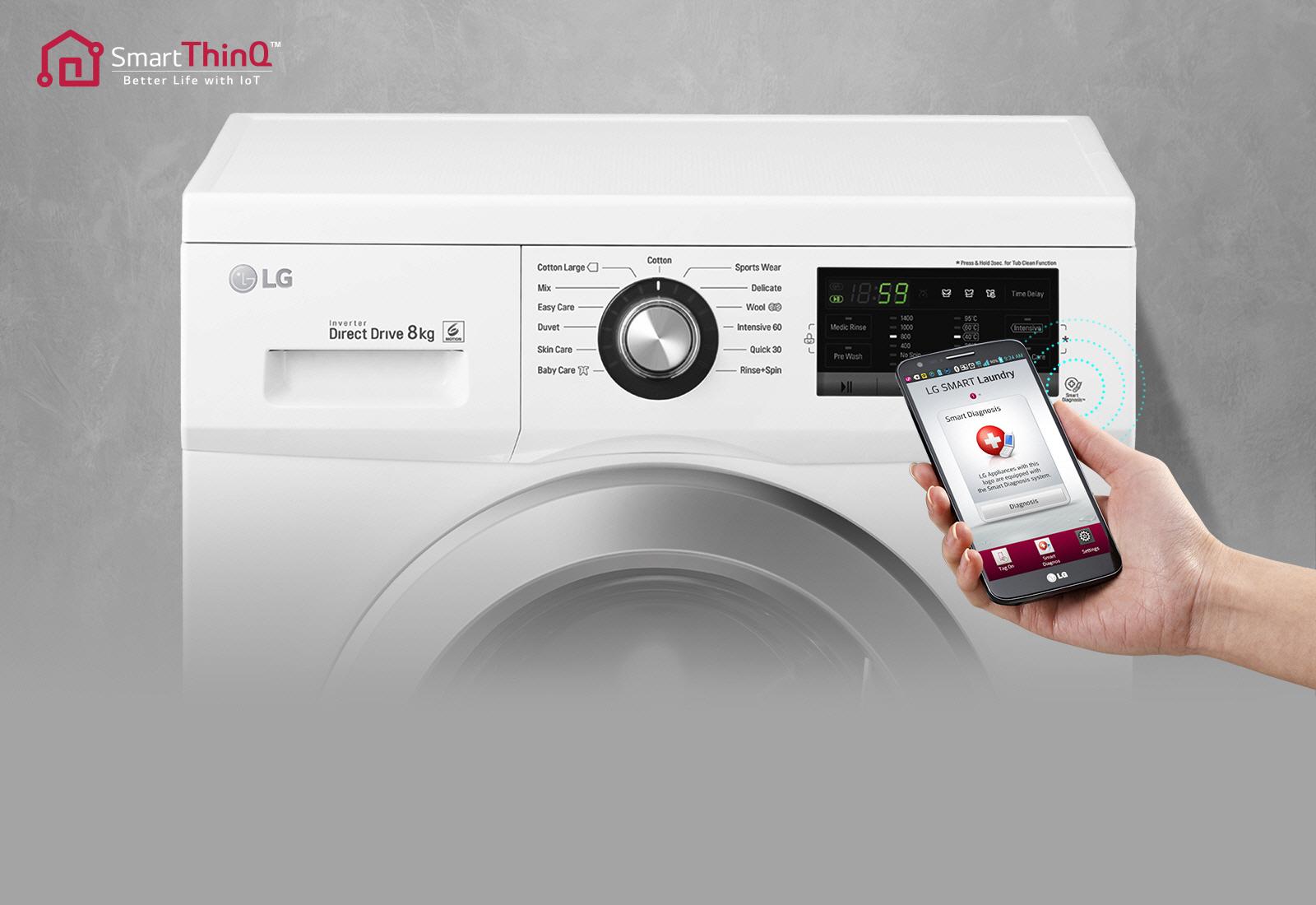 Lg electronics f wm en waschmaschine frontlader a