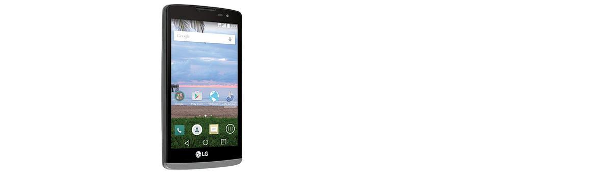 Straight Talk LG Sunset 8GB Prepaid Smartphone, Black