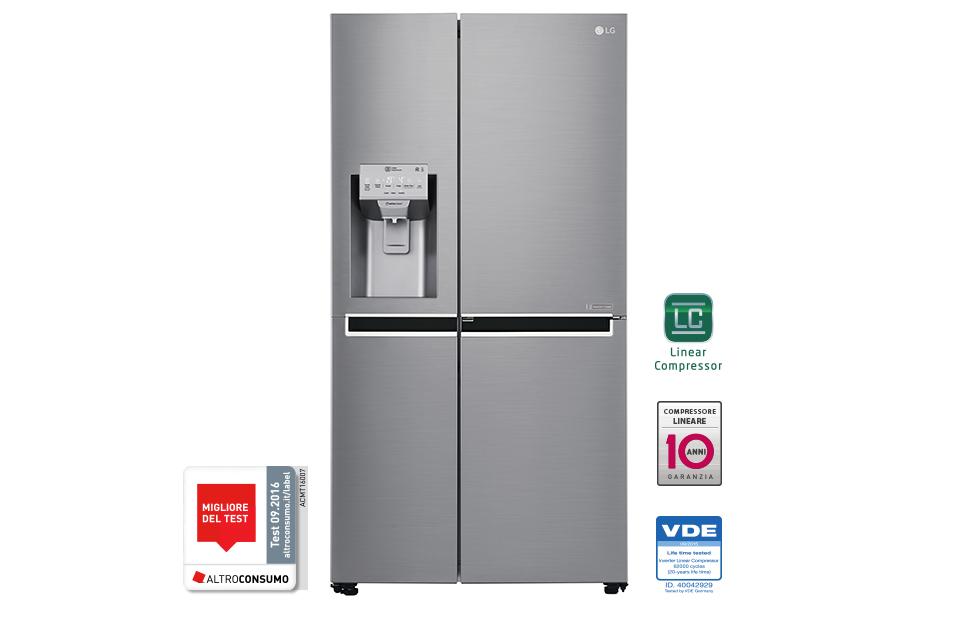 LG GSJ960PZBZ Libera installazione 601L A++ Acciaio inossidabile ...