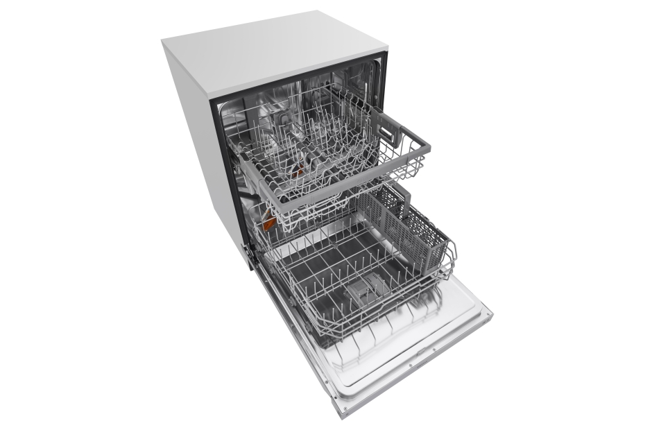 lg dishwasher with quadwash and easyrack plus ldf5545st stainless steel samu0027s club