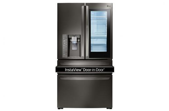 Lg Counter Depth 4 Door French Door Refrigerator 36 Inch Black
