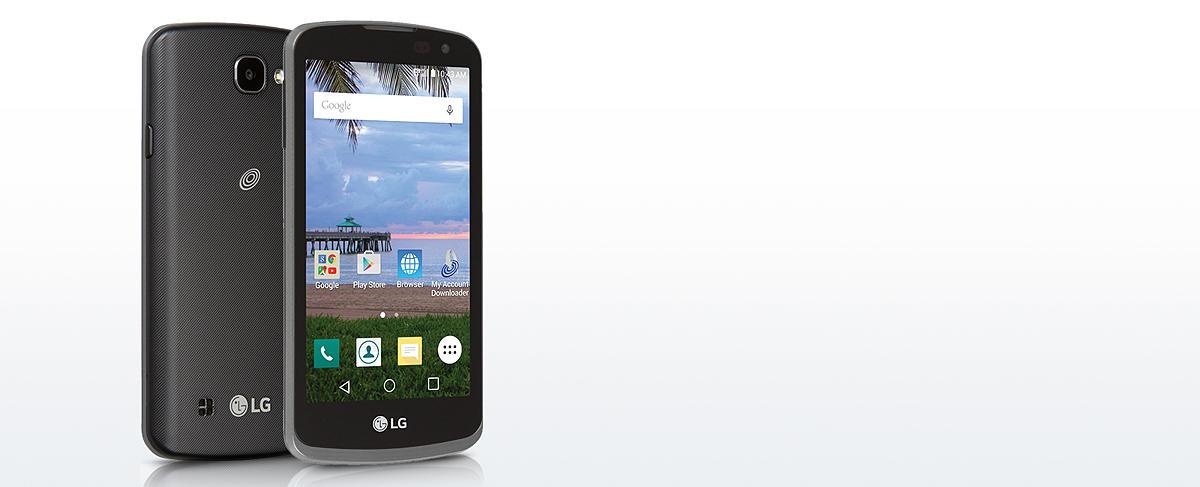 Straight Talk LG Rebel 8GB Prepaid Smartphone, Black
