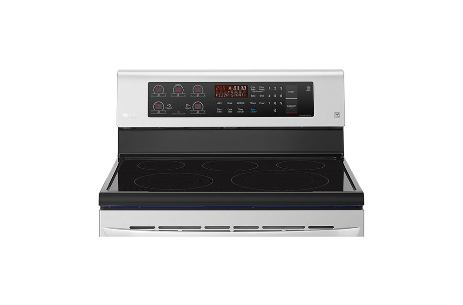 LG 6.3 cu. ft. Electric Range with True Convection and Easy Clean ...