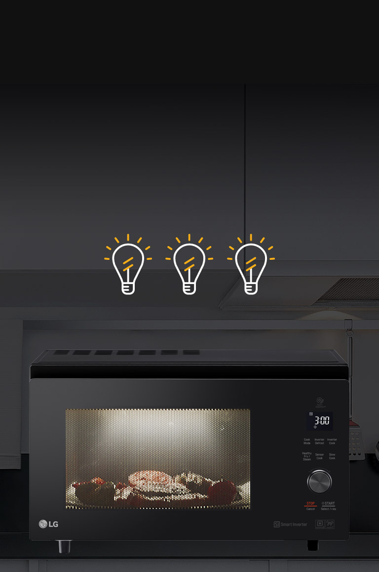 Buy Lg Neochef 39l Smart Inverter Convection Microwave Oven Black Garbage Disposal Plumbing Also Slide In Range On Wiring Oled Tvs Unmatched Color Realism
