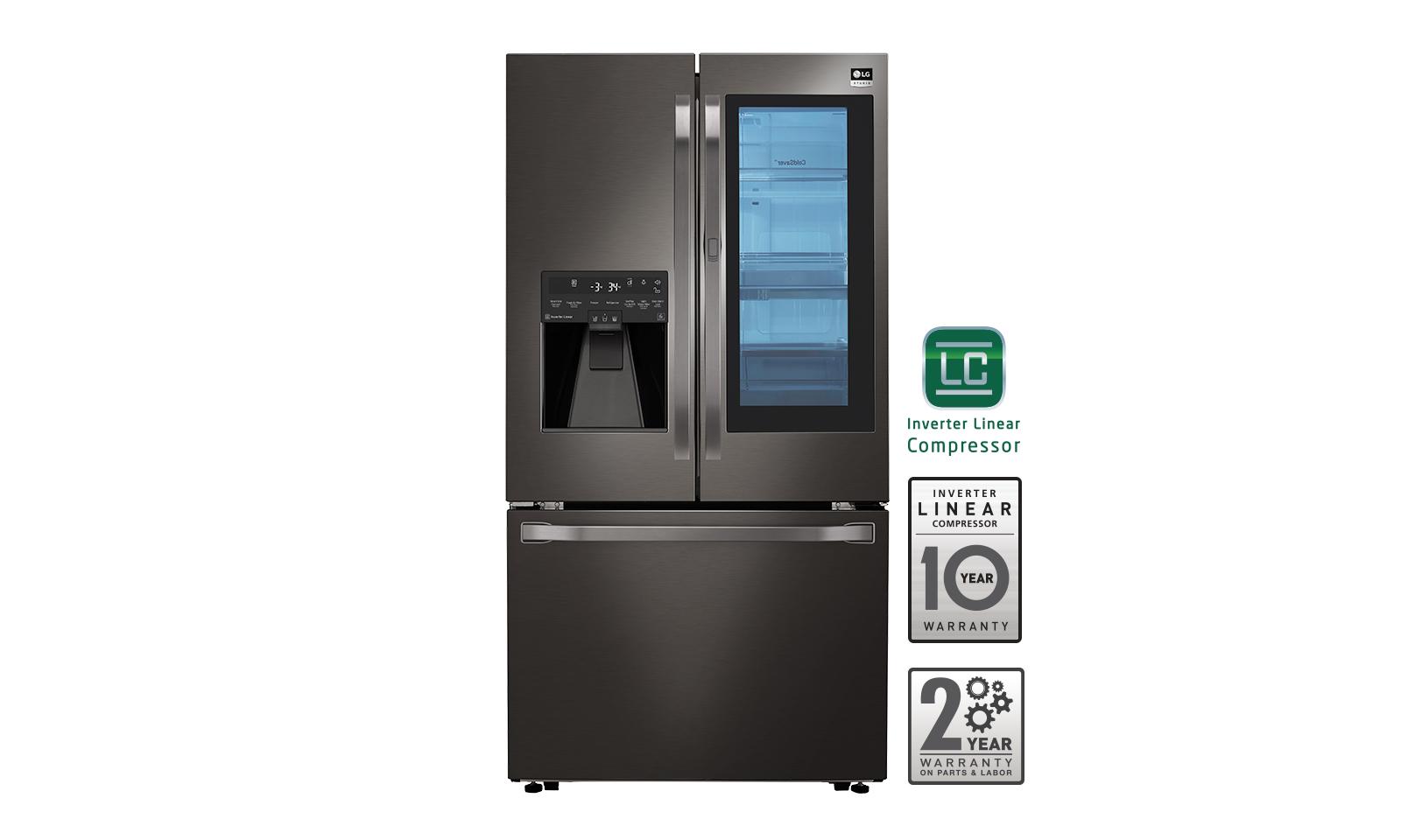 Lg studio 235cuft counter depth with instaview refrigerator in prev next rubansaba