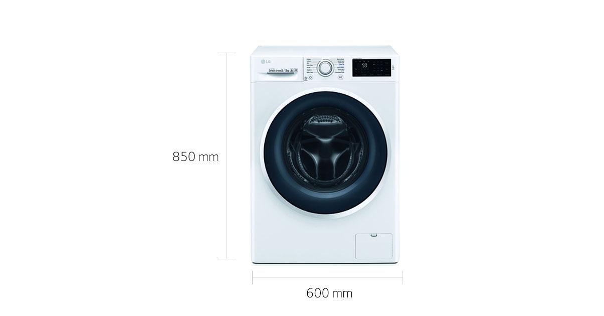 Lg f wd en waschtrockner mit nfc und motion directdrive
