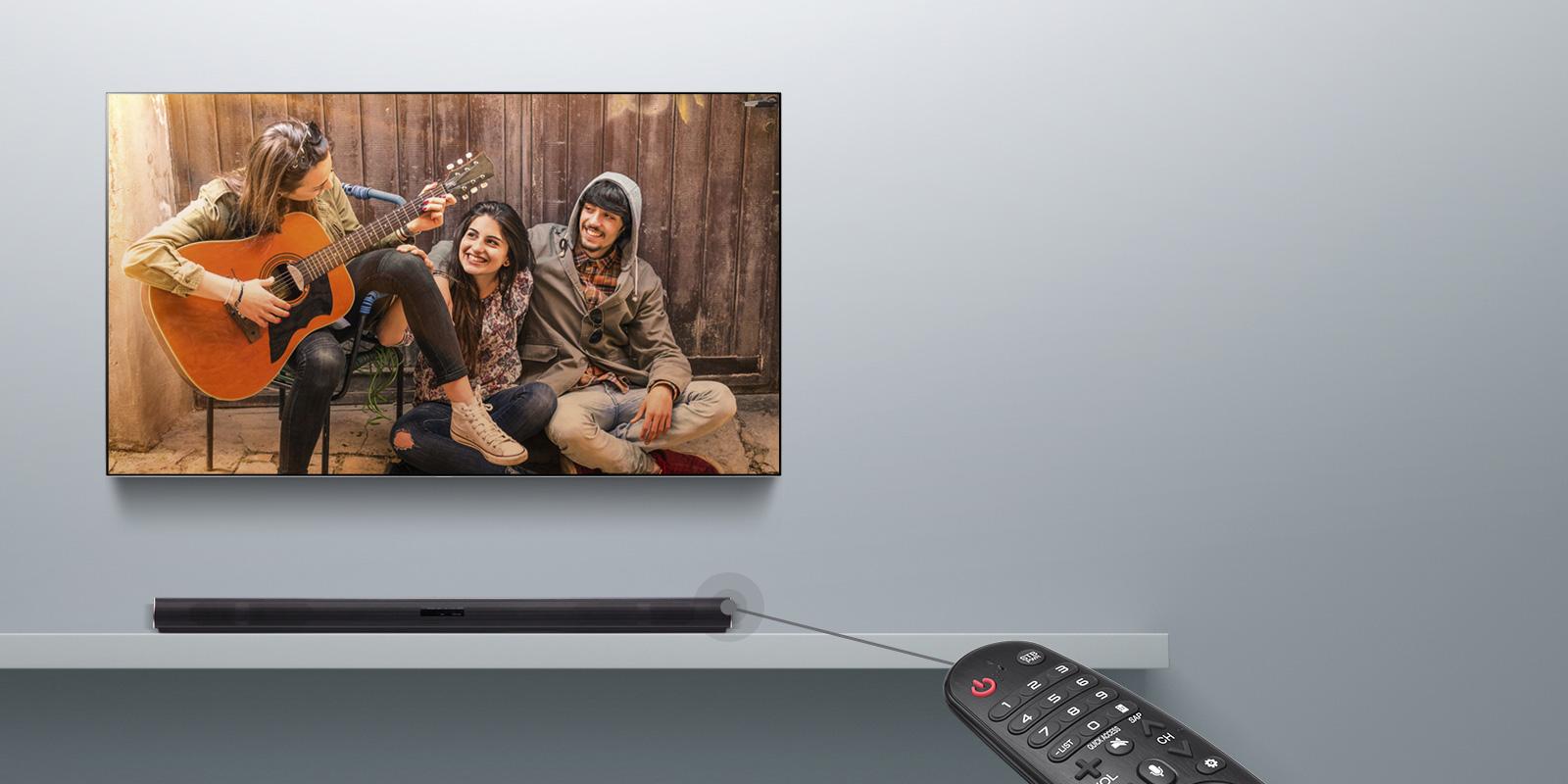 TV-hangszinkronizálás vezetékek nélkül