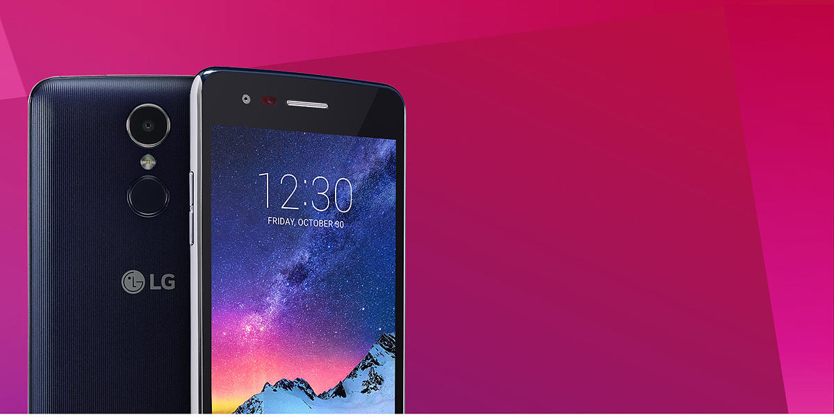 U S  Cellular LG K8 2017 16GB Prepaid Smartphone, Blue