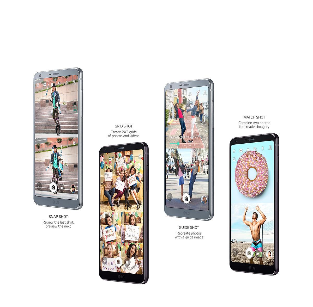 LG G6 32GB Unlocked Smartphone, Black - Walmart com