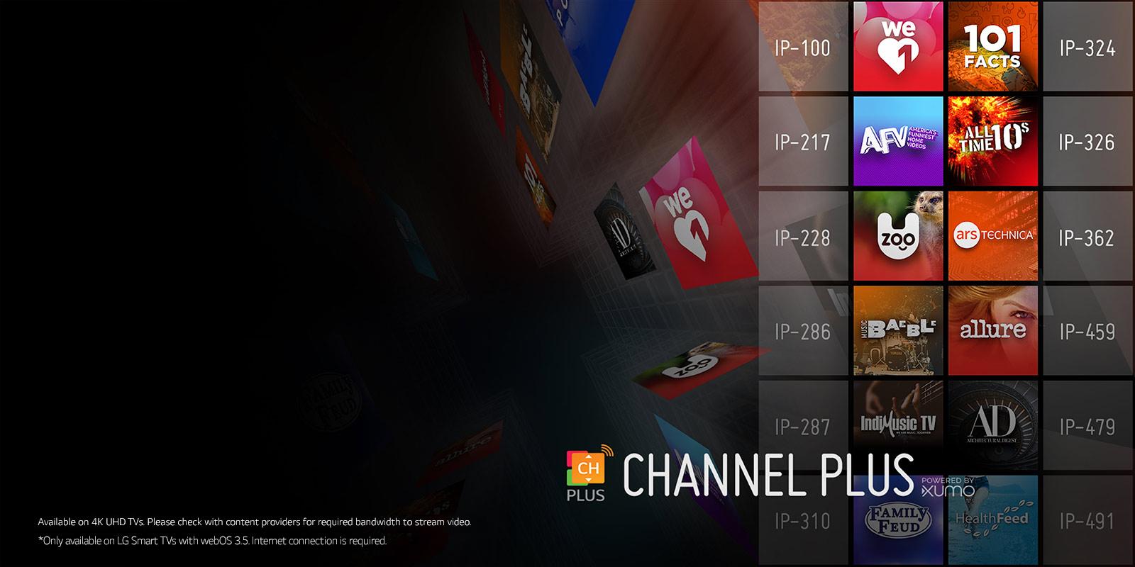 lg 65uj6540. channel plus lg 65uj6540