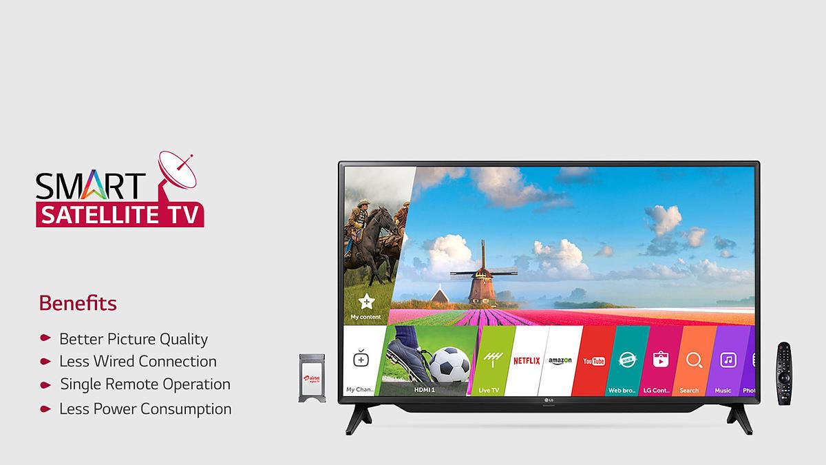 LG 43LJ619V 43(108cm) FULL HD Smart LED TV Price in India - buy LG ...