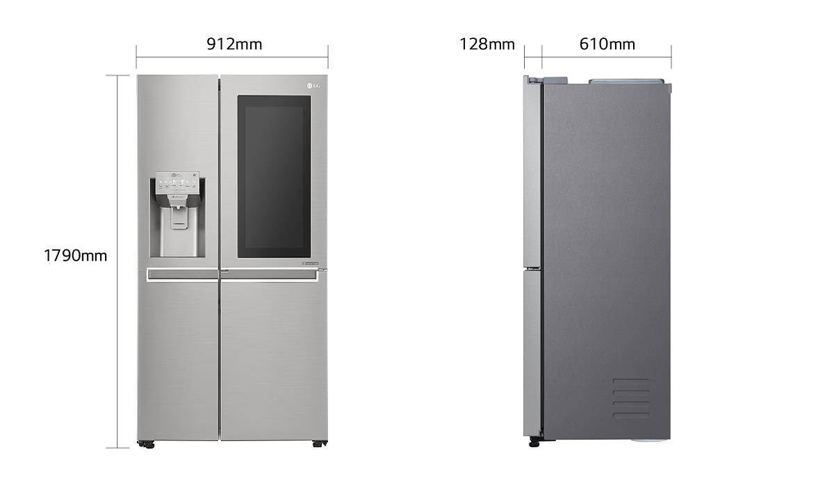 Side By Side Kühlschrank Geizhals : Lg gsx neaz side by side electronic you