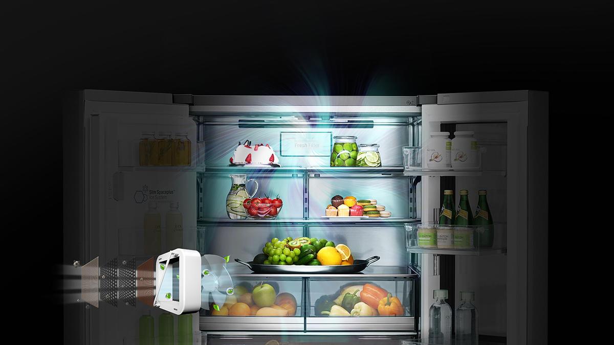 Side By Side Kühlschrank Eiswürfel Hygiene : Die platzsparende kühlgefrierkombination side by side expertentesten