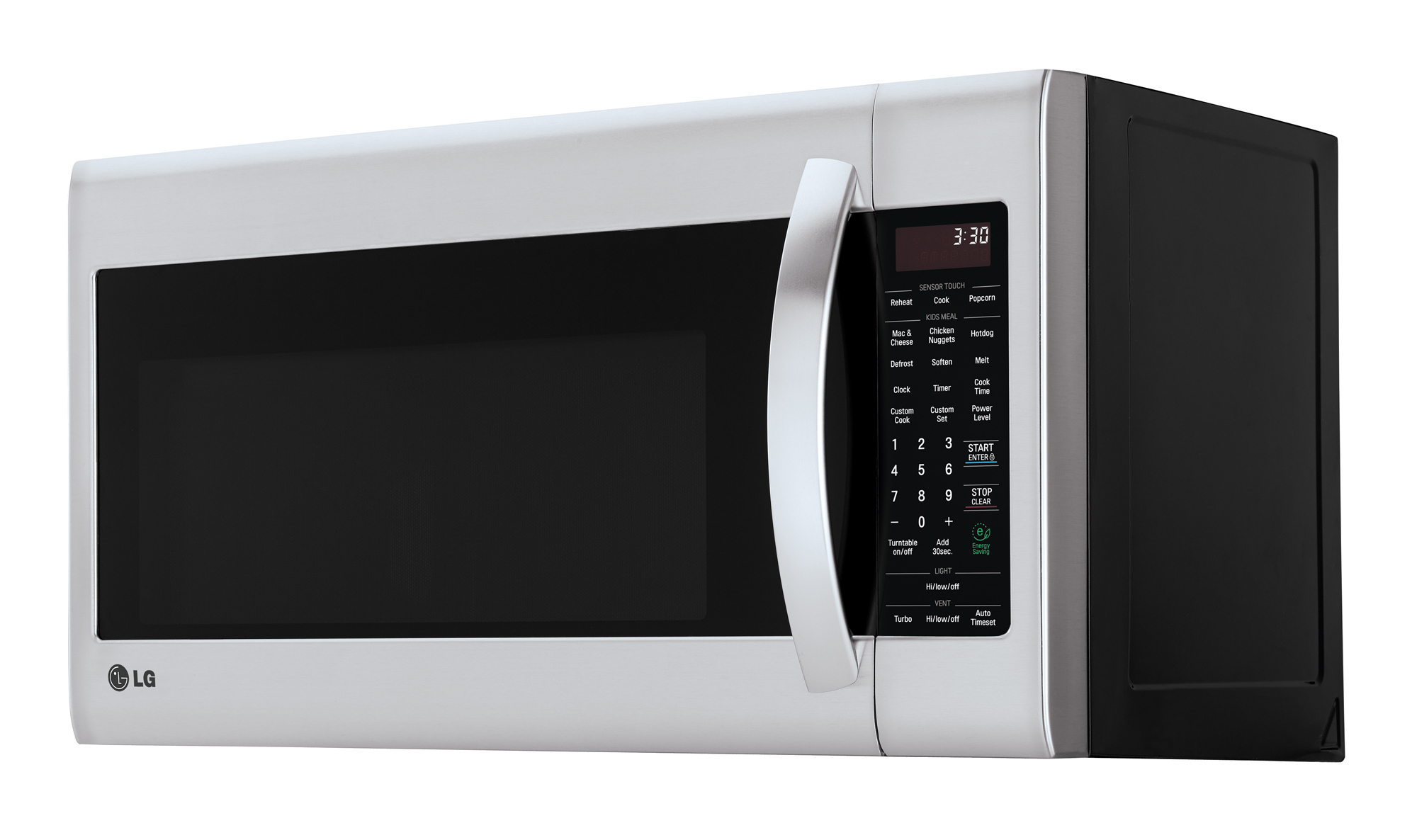 LG Electronics 2 0 cu ft Over the Range Microwave with EasyClean