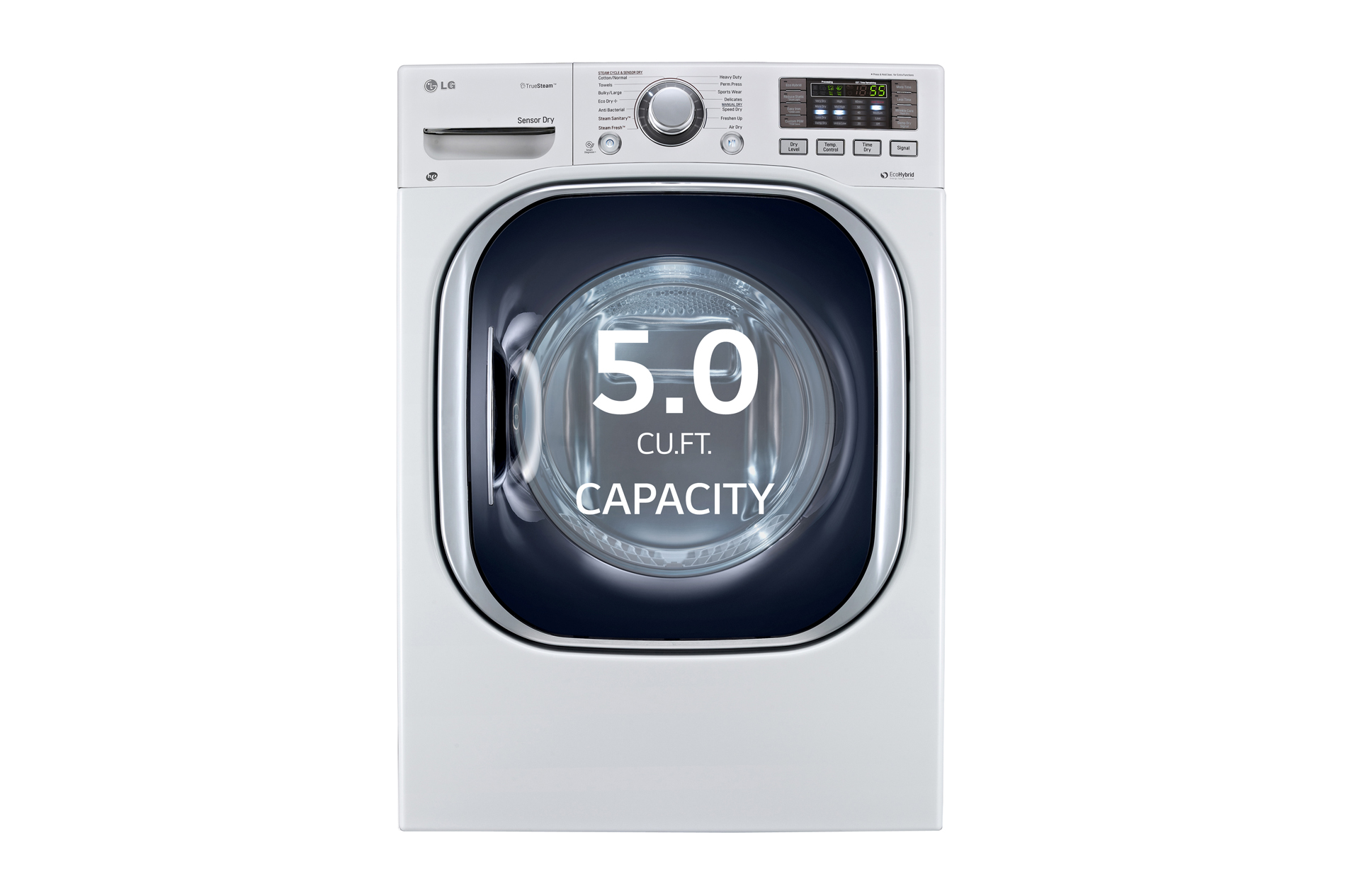 LG Electronics 5 0 cu ft Front Load All In e Electric Washer