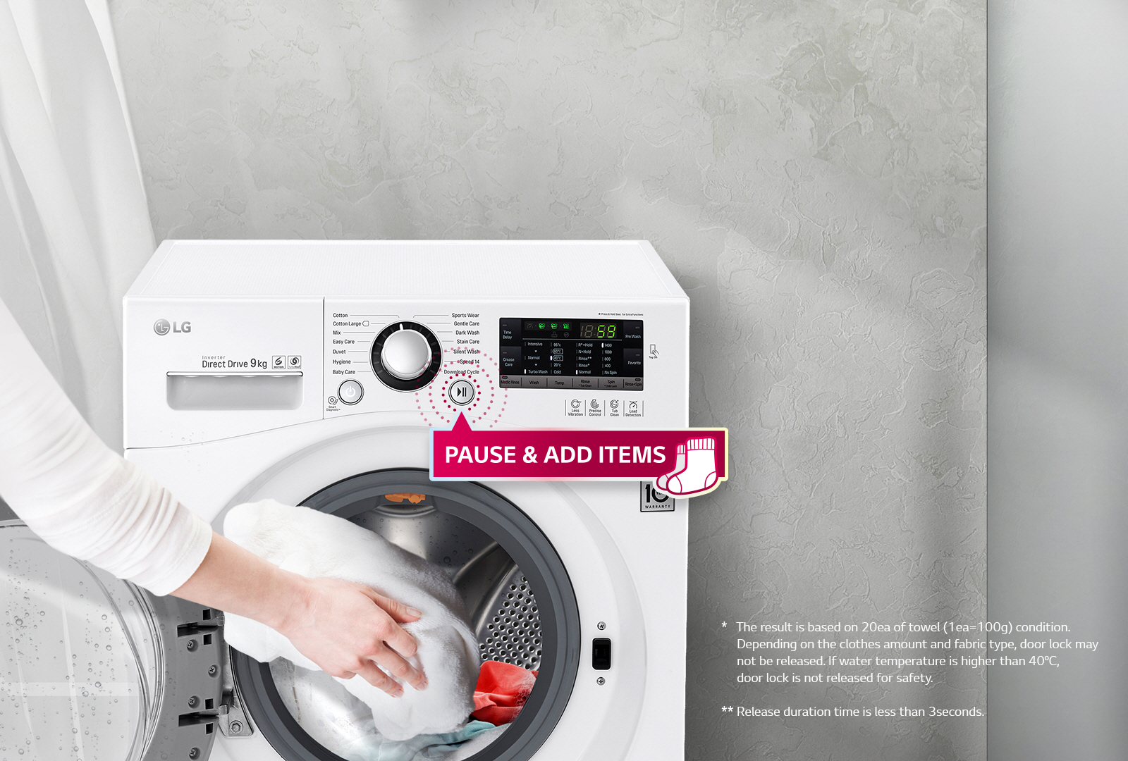 Lg fh495bds2 washing machine in white 1400rpm 12kg a rated oled tvs unmatched color realism biocorpaavc Images