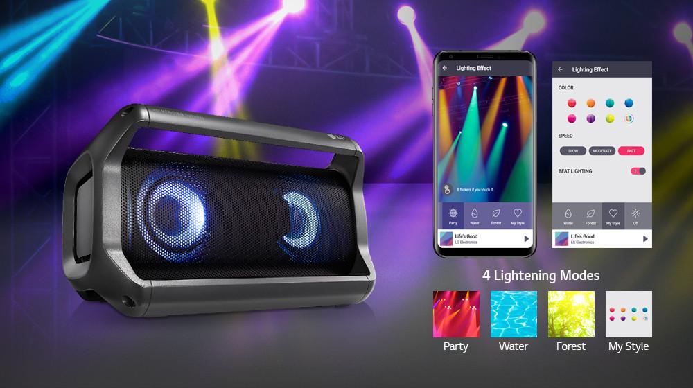 LG XBOOM Go PK5 Portable Speaker PK5