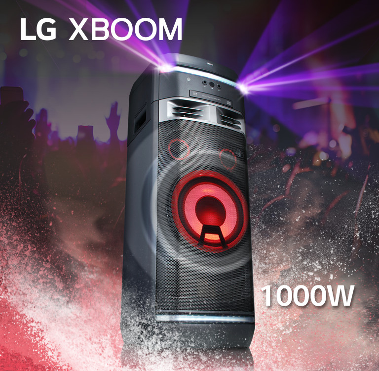 LG OK75 XBOOM 1000W One Body Hi-Fi Speaker