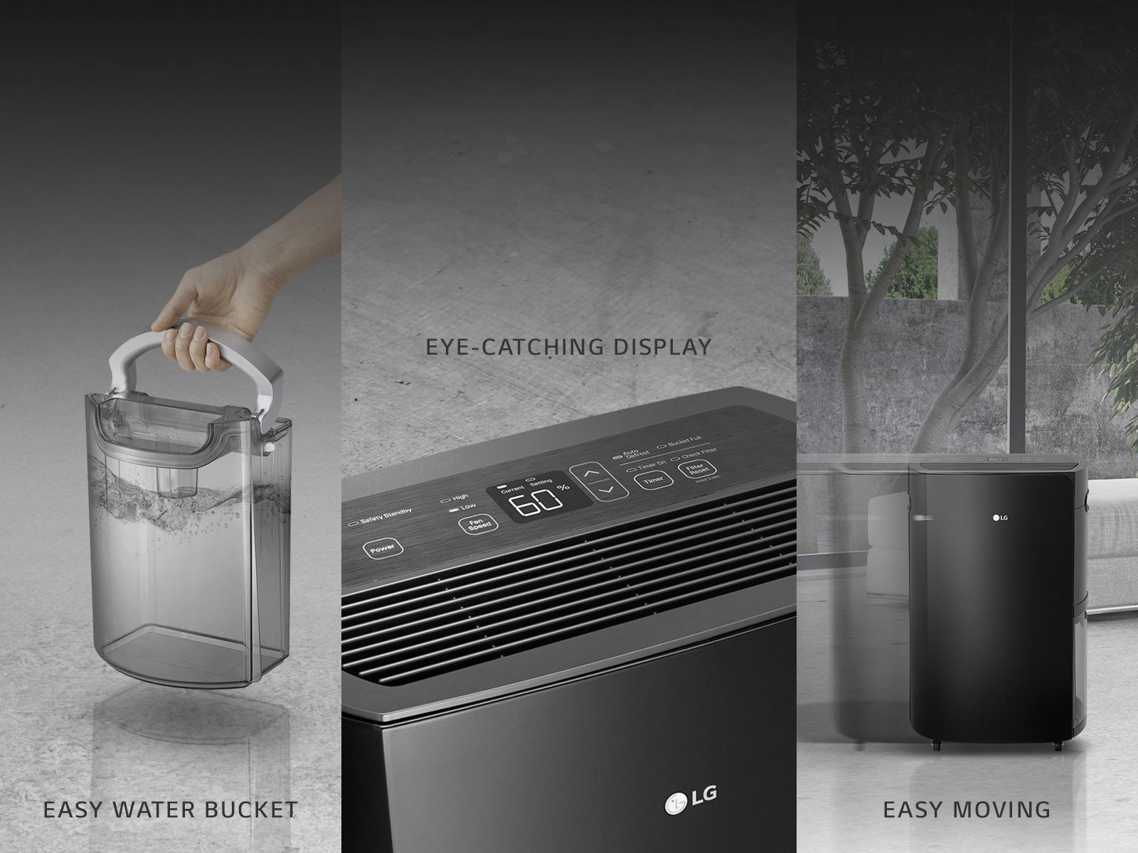 LG Electronics 70 Pint Dehumidifier