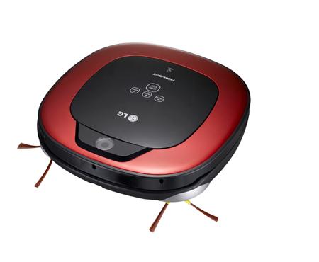 aspirateur robot lg vr1227r hombot - hombot (3661741)   darty