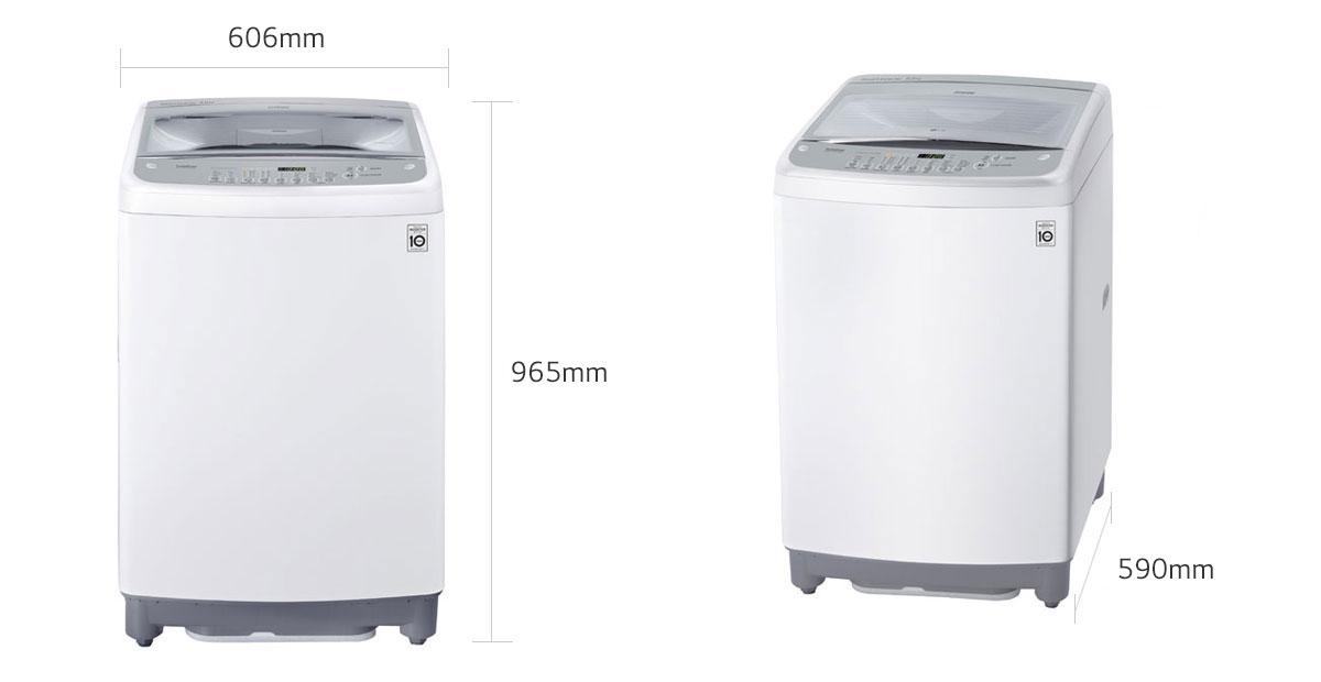 Lg 12kg Automatic Top Loader Washing Machine Wm 1266