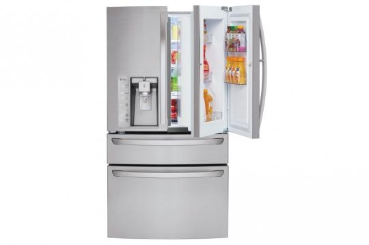 Awesome Ft. Door In Door French Door LG Refrigerator From RC Willey Comes With A  Generous 30 Cu. Ft. Capacity. This Door In Door; Refrigerator With  CustomChill; ...