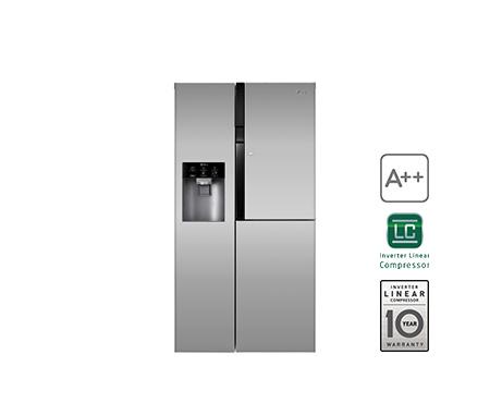Aeg Kühlschrank Wo Hergestellt : Lg gs 9366 pzyzd side by side kühl gefrierkombination edelstahl