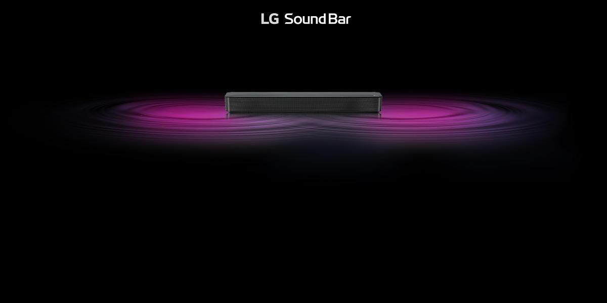LG 2 0 Channel 40W Compact Soundbar - SK1