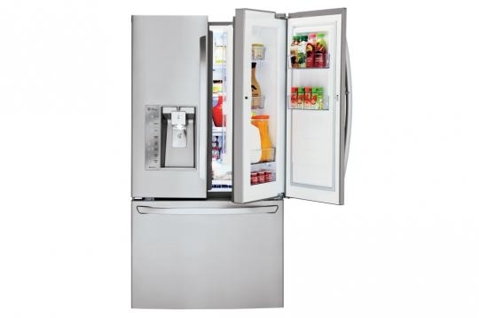 This 30 Cubic Foot French Door Refrigerator Is For Sale At RC Willey Today.  This 36 Inch Refrigerator Comes In A Stainless Steel Finish.