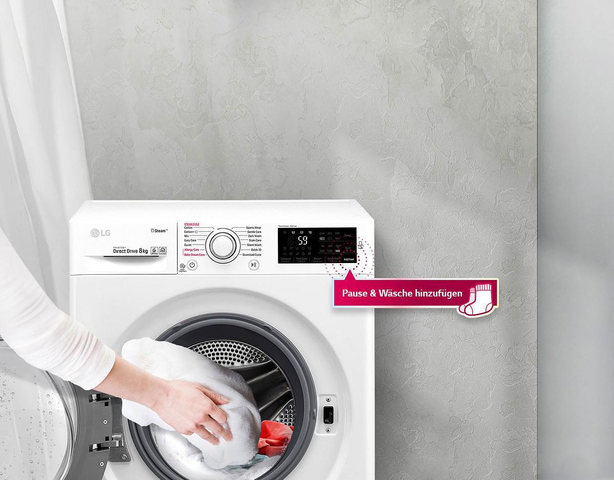 Waschtrockner f wd en waschtrockner waschen trocknen