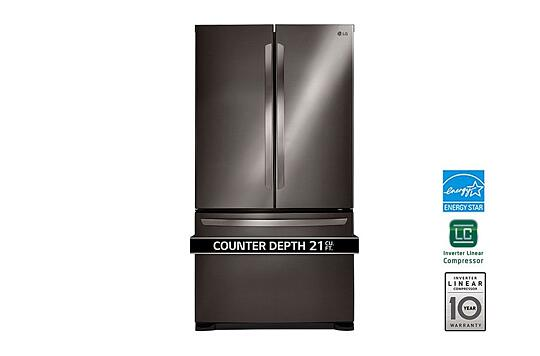 Lg Electronics 21 Cu Ft French Door Refrigerator With Smart