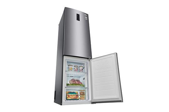 Side By Side Kühlschrank Dunkelgrau : Lg gbb60dsmfs nofrost kühl gefrierkombination dunkelgrau