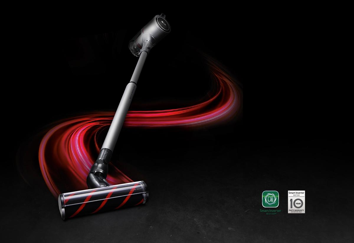 Lg A9master2x Cordzero A9 Master 2x Handstick Vacuum At The Good Guys Garbage Disposal Plumbing Also Slide In Range On Wiring Powerful Cordless Freedom