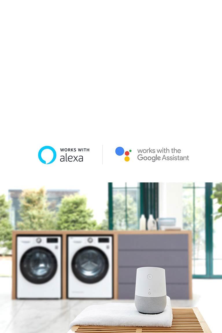 LG F4V710WTS A+++ 10 5kg Washing Machine, White