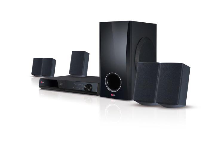 LG BH5140S 500-Watt 5 1 channel Blu-ray Home Theater System