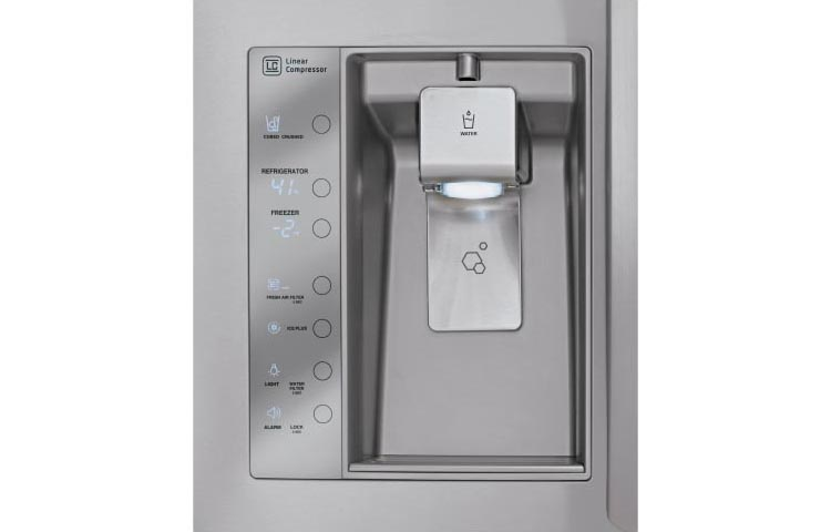 lg refrigerator with ice maker. ft. french door refrigerator with dual ice makers | nebraska furniture mart lg maker