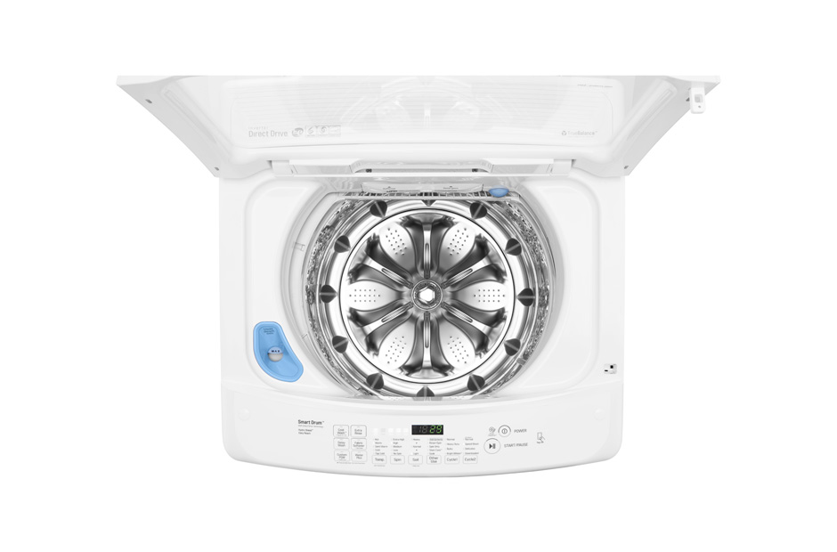 lg 45 cu ft ultralarge capacity topload washer with design wt1501cw white samu0027s club