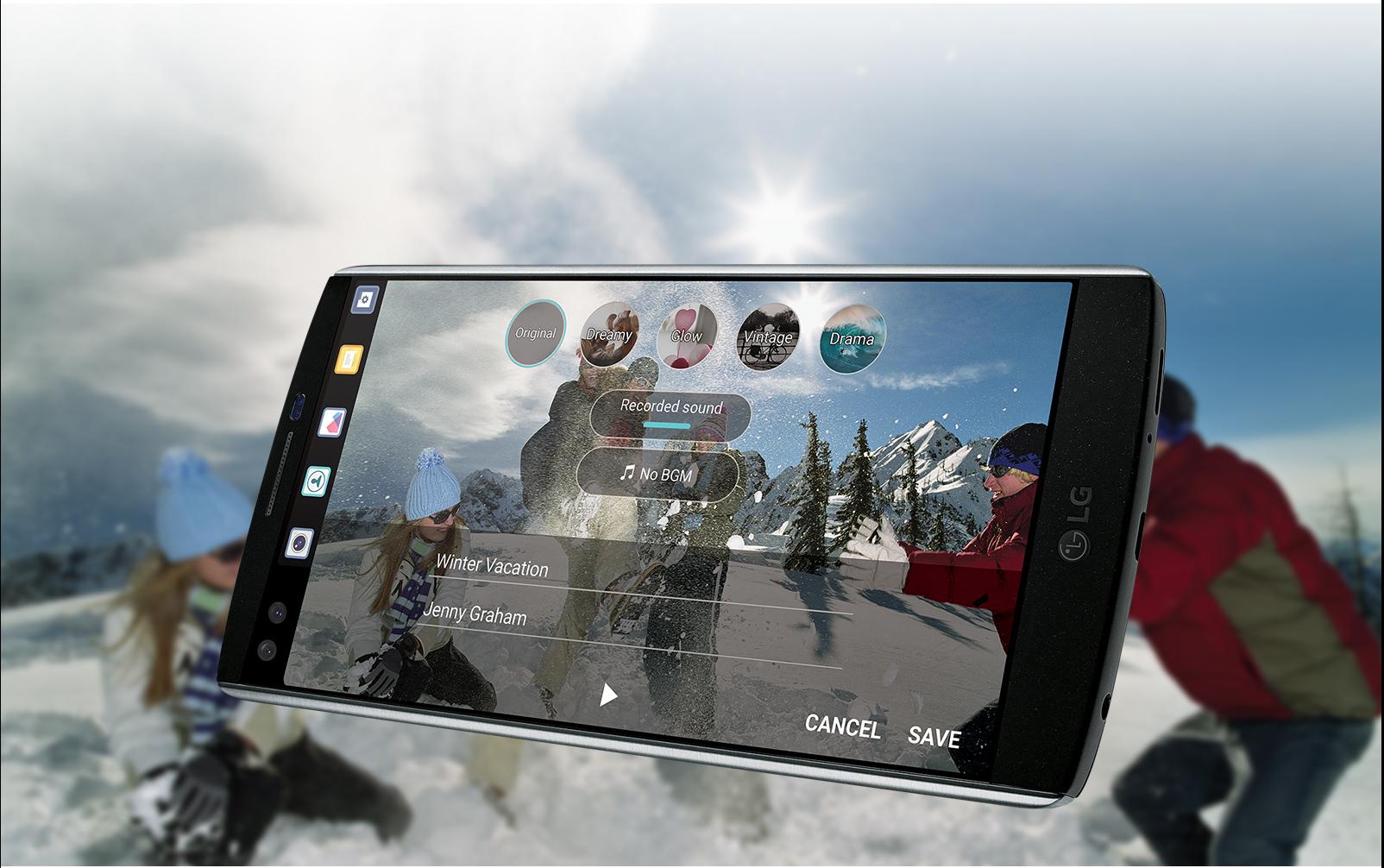 LG V10 H900 64GB AT&T Unlocked 4G LTE Hexa-Core Android Phone w/ 16MP  Camera - Black