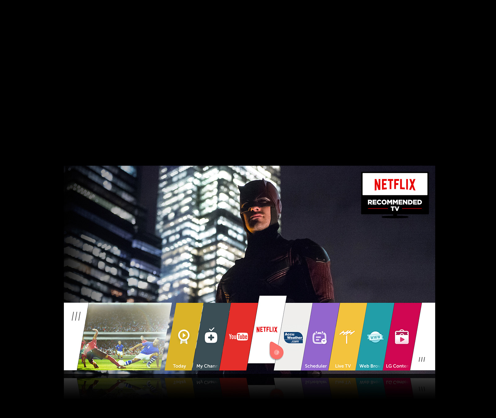 LG 55 inch 4K LED Smart TV - 55UF7600 | Dell United States